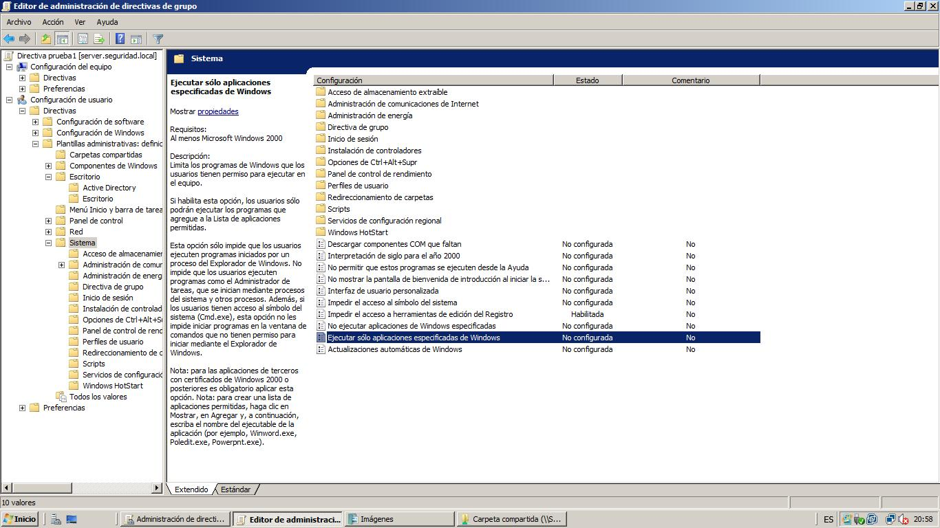 how to open gpo in server 2008