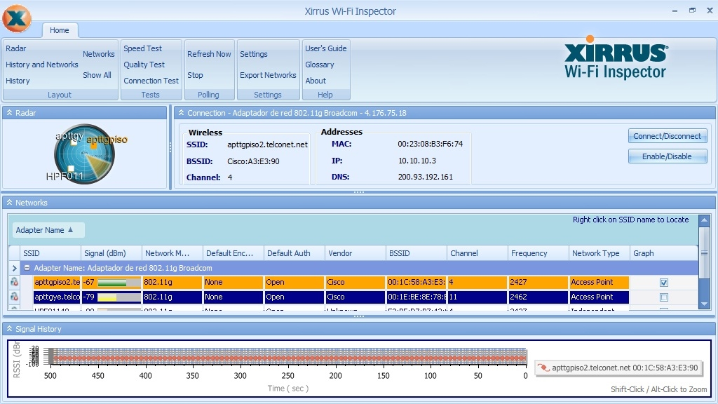 Xirrus Wifi Inspector Para Windows 7