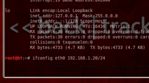 asigno IP